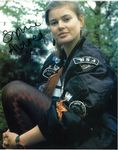 Sophie Aldred - Signed 10 x 8. This is an original autograph not a copy 10256